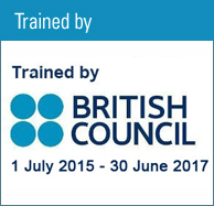 Trained by British Council July 2009~June 2011
